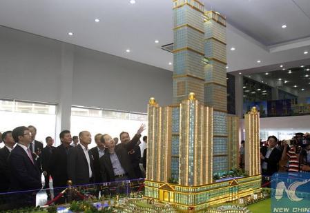 Самые высокие башни‑близнецы в мире появятся в Камбодже