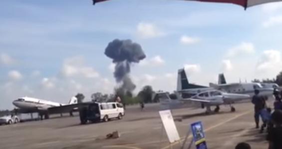 Hat Yai: Gripen crashed during Children's day airshow