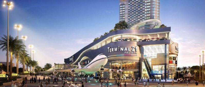 Терминал 21 Паттайя — новый магазин