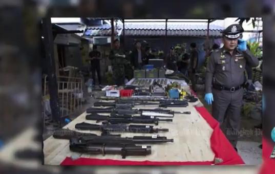 Island-wide checkpoints, Thai boxer stuns, coral restoration