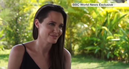 Angelina Jolie on divorce, film and Cambodia- BBC News