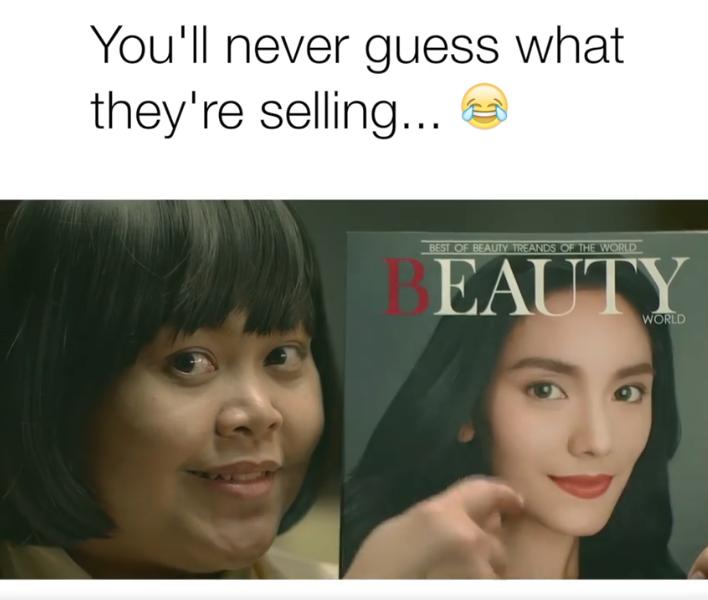 Шедевры тайской рекламы.