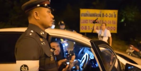 Пьяные русские оказали сопротивление полиции в Паттайе