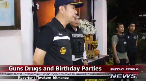 Guns Drugs and Birthday Parties