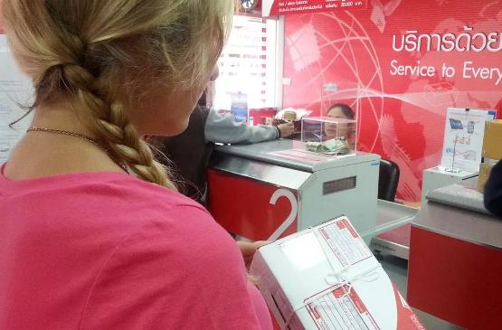 Особенности отправки посылки из Тая в РФ