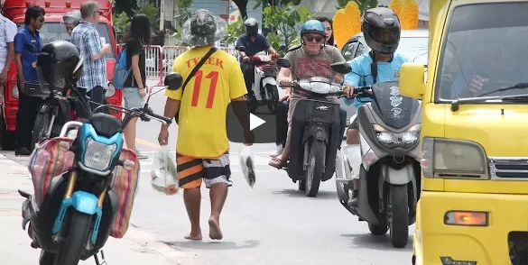 Gang attack at hospital! Vendors to move! Two-way Patong?