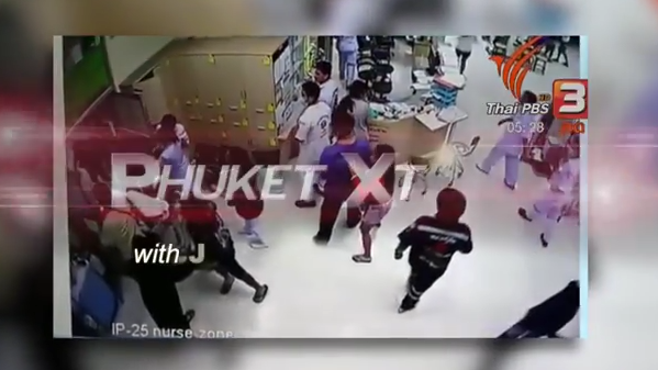 Phuket immigration! Killed wearing headphones? Hospital attackers caught!