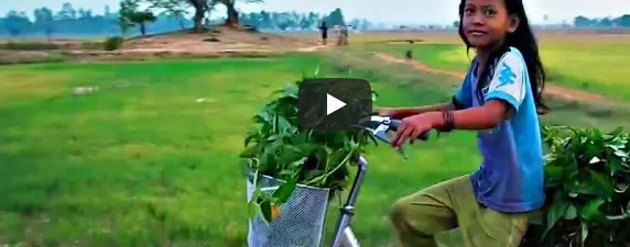 Камбоджа 2017.Жизнь в деревне.часть 3.зв