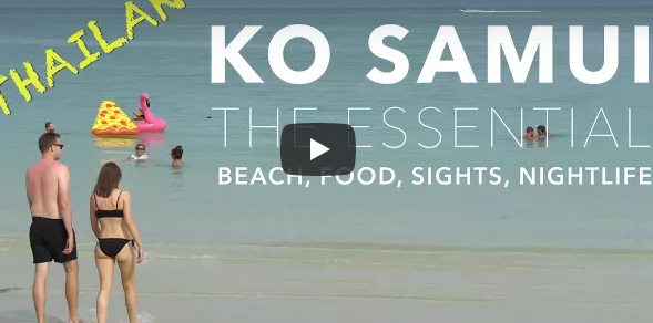 KO SAMUI, Thailand - The Essential - Beach, Food, Sights, Nightlife (4K)