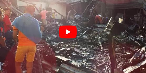 Truck flips, catches fire! Speedboat stabbing? Morning blaze guts 4 houses!