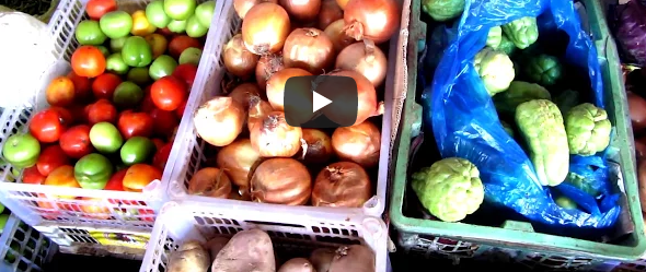 Зимовка в Камбодже Рынок в Кампоте Цены на продукты 2018