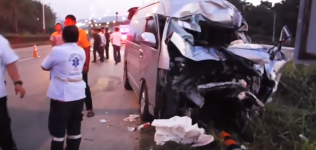ANOTHER tourist van crash! Stealing from scholarship fund! Woman's tree 'prediction'?