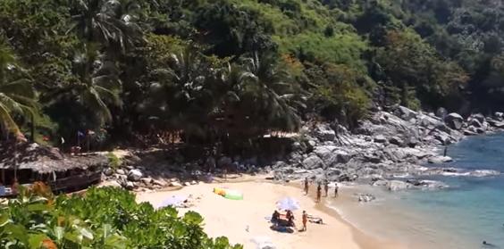 Пляж Нуй Пхукет Nui beach