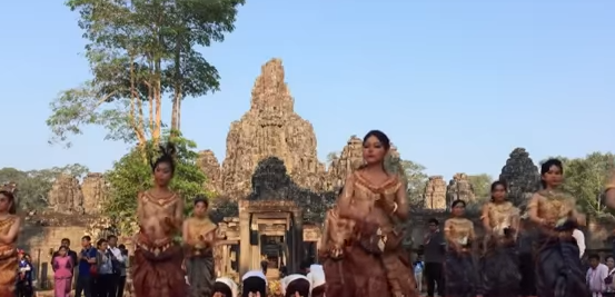 В Камбодже отметили Новый год