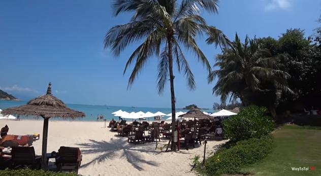 2 ЛУЧШИХ пляжа Самуи. Пляжи Таиланда / waytotai