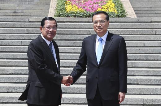 Главы КНР и Камбоджи высказались о 60-летии дипломатических отношений