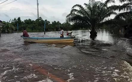 В Таиланде в результате наводнения пострадали более 58 тыс. человек