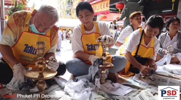 Vegetarian Fest prep! 656 day overstay? Nurse's steady nerves! || Phuket