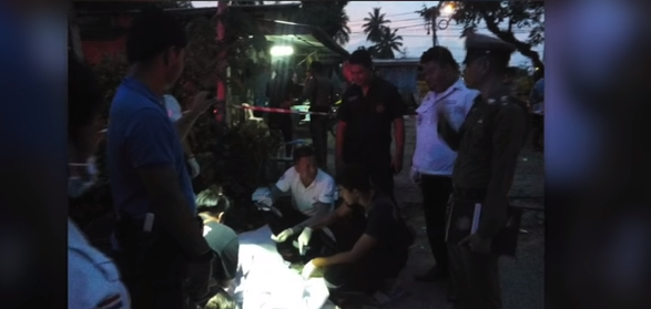 Jealousy stabbing! 10,000 meals for nothing? Half a tonne of garbage!    Phuket