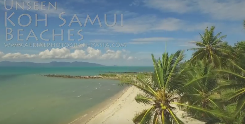 Unseen Koh Samui - Beaches Part 1 Drone Footage