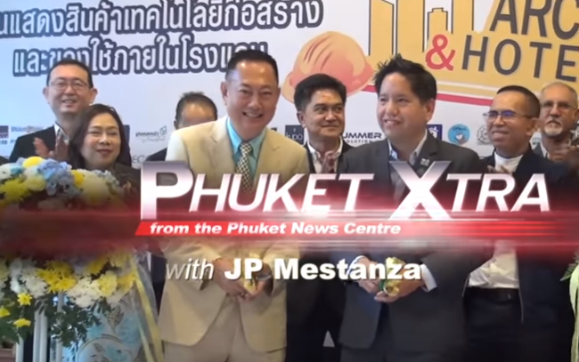Light-rail budget jumps to B40 Bn! Motorbikes on sidewalks! Architects & Hotelex 2018! || Phuket