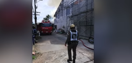 Elephant goes rogue! 3rd fire in a week? Seven test-takers arrested! || Phuket
