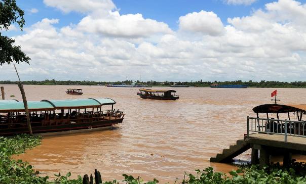 На реке Меконг стартовал 78-й патруль Китая, Лаоса, Мьянмы и Таиланда