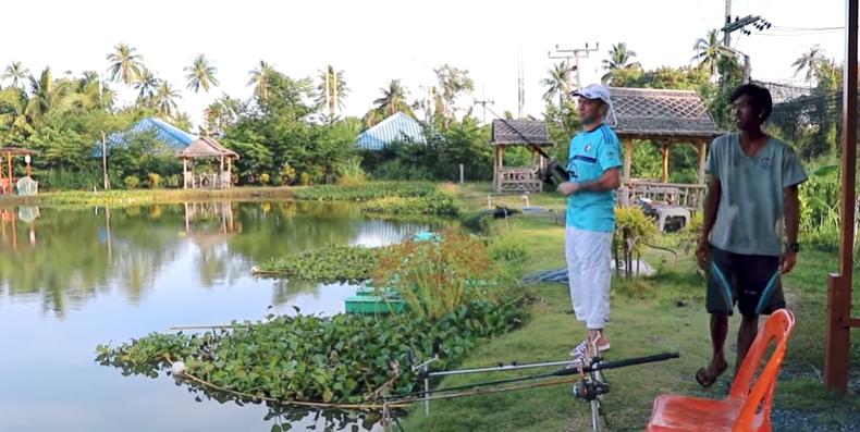 Озерная рыбалка на Пхукете  | Phuket Lake fishing