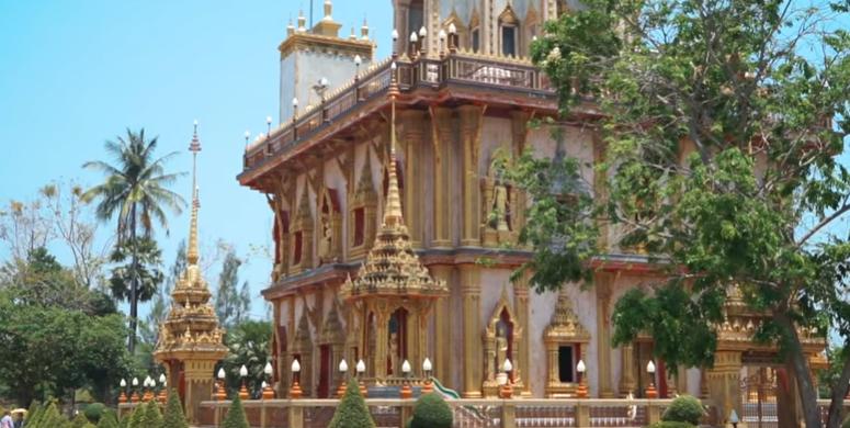 Ват Чалонг. Храм на Пхукете. Wat Chalong Phuket