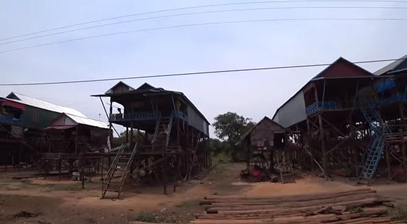Камбоджа. Задержала полиция. Как живут беженцы из Вьетнама