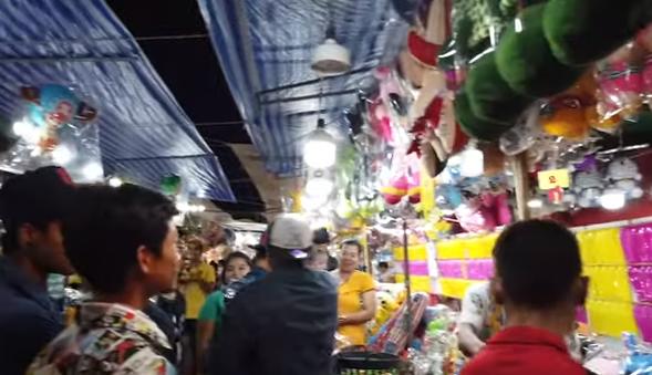 Тайская ярмарка рядом с домом, развлечения в Паттайя 2019 Thailand