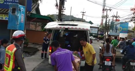 Baby born in traffic! Cop barbershop? Deep south SIM card registry? || Phuket