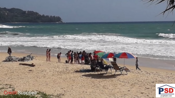 Scared to death? Pervy official wanted! Stop ignoring the red flags at the beach! || Phuket