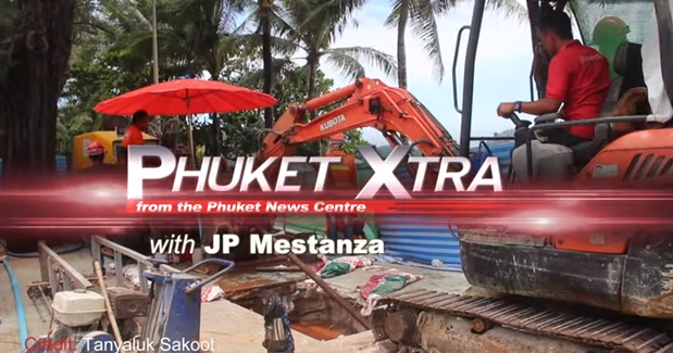 Screws stolen, train derails! Patong Beach Rd. closures? Another dead dugong? || Phuket