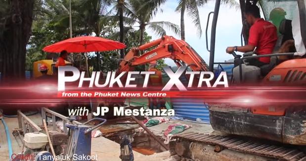 Screws stolen, train derails! Patong Beach Rd. closures? Another dead dugong? || Phuket