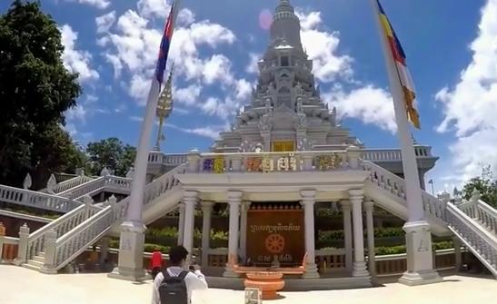 Камбоджа.Провинция Кандаль-район вокруг столицы