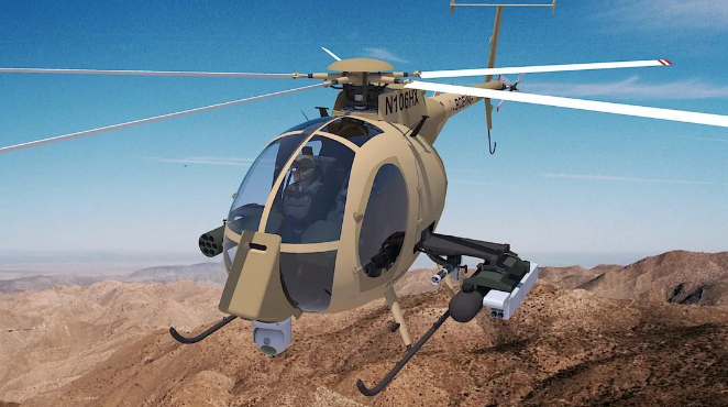 Таиланд планирует купить у США восемь вертолетов AH-6i