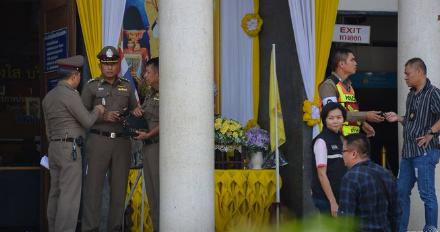 СМИ: в Таиланде отставной генерал полиции застрелил двух человек в суде