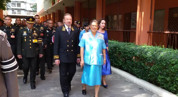 Сестра короля Таиланда попала в больницу из-за проблем с сердцем