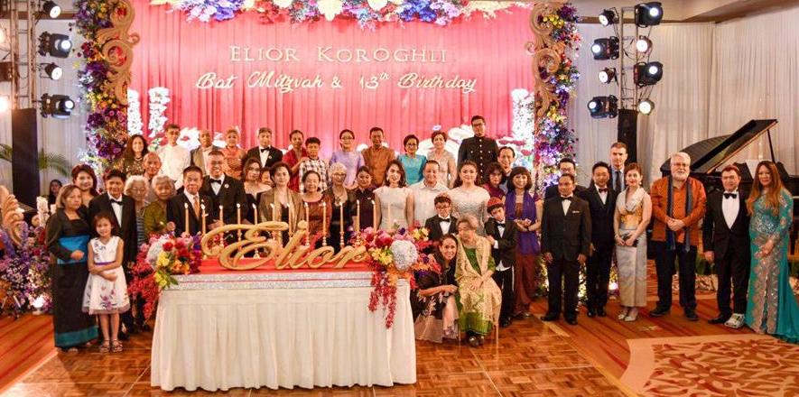 Королевская семья Камбоджи празднует свою первую бат-мицву