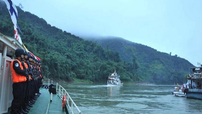 Завершился 90-й патруль Лаоса, Мьянмы, Таиланда и Китая на реке Меконг