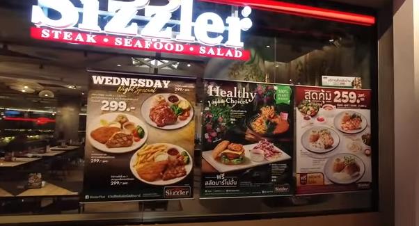 ПАТТАЙЯ 2020 Sizzler 139฿ Салат Бар Безлимит Терминал 21 Таиланд Еда в Таиланде 2020 Thailand