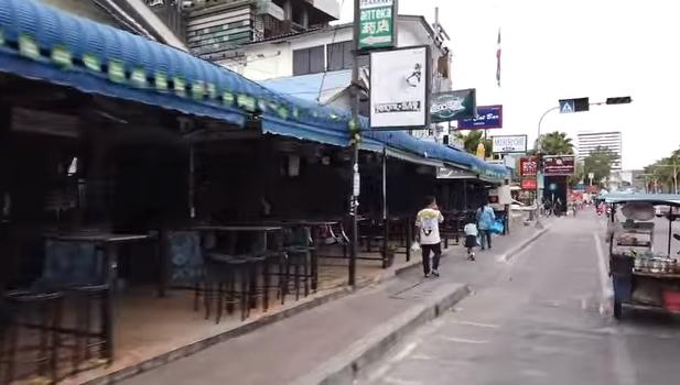 ПАТТАЙЯ СЕГОДНЯ - БИЧ РОАД и ВОЛКИНГ СТРИТ 20.04.2020 BEACH RD. WALKING STREET Pattaya Thailand