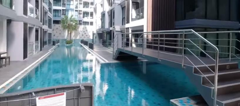 SIAM TROPICAL GARDEN Обзор кондо и студии Пратамнак Паттайя Pattaya Thailand 2020 PATTAYA THAILAND