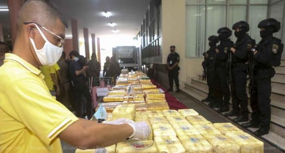 В Таиланде задержаны 11 наркоторговцев, изъято огромное количество наркотических веществ