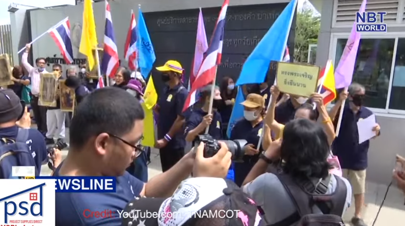 Thousands rally 'inappropriately'? Regulating food delivery apps! || Thailand News