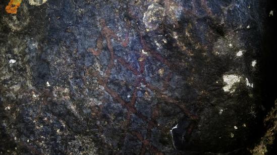 В пещерах Таиланда найдены древние наскальные рисунки