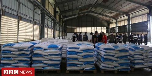 В Таиланде изъяли 11 тонн кетамина, который оказался обычной пищевой добавкой