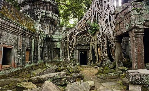 """Храм Дедушки Буйвола """"Та Кробэй"""" - храм на границе с Тайландом, Ангкор, Камбоджа."""