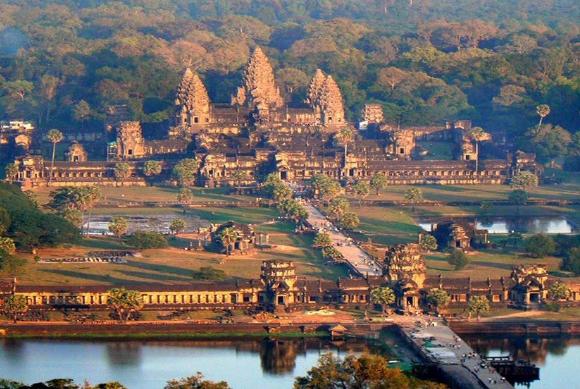 В Камбодже ученые подсчитали население древнего тропического города Ангкор